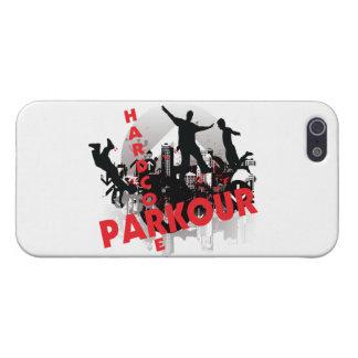 Hardcore Parkour Grunge-Stadt Etui Fürs iPhone 5