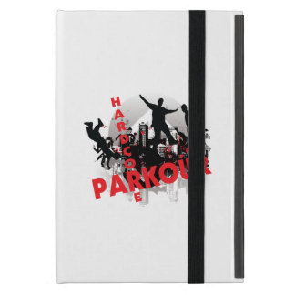 Hardcore Parkour Grunge-Stadt iPad Mini Schutzhülle