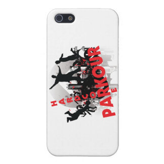 Hardcore Parkour Grunge-Stadt iPhone 5 Cover