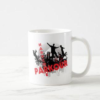 Hardcore Parkour Grunge-Stadt Kaffeetasse