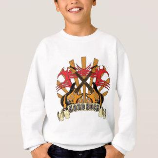Hardrock-Gitarren Sweatshirt