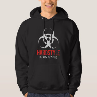 Hardstyle ist meine Art Kapuzensweatshirt