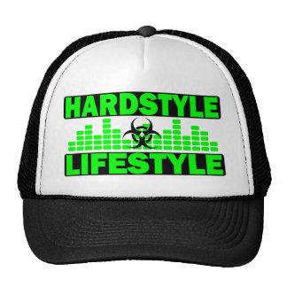 Hardstyle Lebensstil hazzard und Tempoentwurf Trucker Kappe