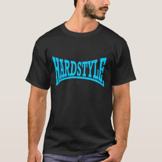 Hardstyle Logo-Blau T-Shirt