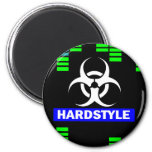 Hardstyle Muster Magnete