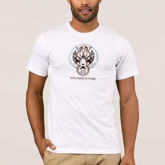 Hardstyle Stunde Widerstand ist vergeblich T-Shirt