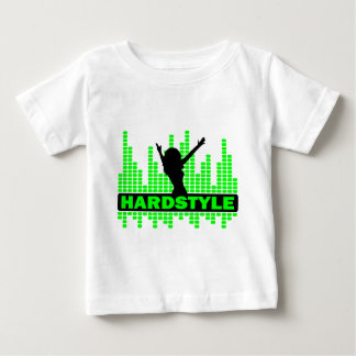 Hardstyle Tänzer-Tempoentwurf Baby T-shirt