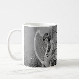 Harfe des Mondscheins, gespielt für den Waldkönig Kaffeetasse