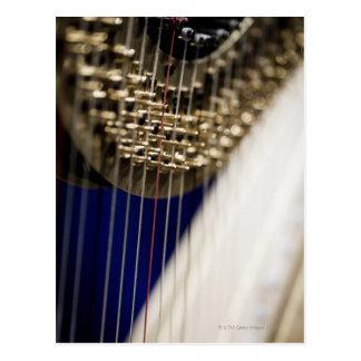 Harfe Postkarte