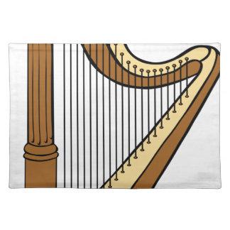 Harfe Tischset