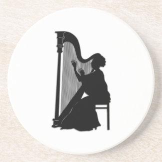 Harfen-Spieler Untersetzer