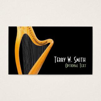 Harfen-Visitenkarte Visitenkarte