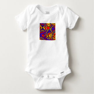 Harlekin Baby Strampler