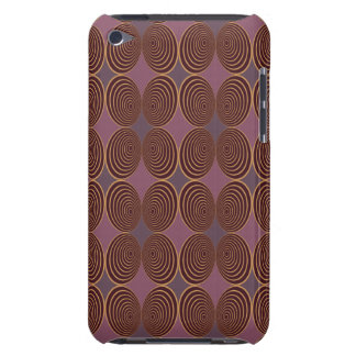 Harlekin Concentris Beere Case-Mate iPod Touch Case