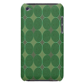 Harlekin Concentris Tanne iPod Touch Case-Mate Hülle
