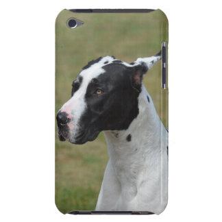 Harlekin-Deutsche Dogge iPod Touch Case-Mate Hülle