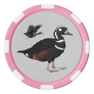 Harlekin-Enten-Poker-Chips Poker Chip Set