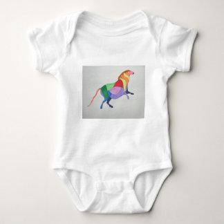 Harlekin-Pferd Baby Strampler