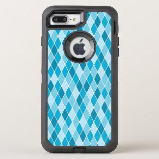 Harlekinwintermuster OtterBox Defender iPhone 8 Plus/7 Plus Hülle