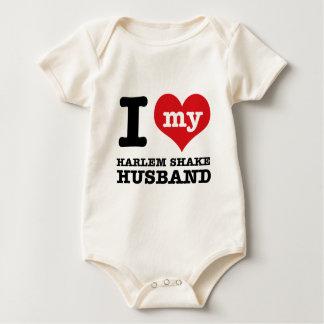 Harlem-Erschütterungstanzehemann Baby Strampler