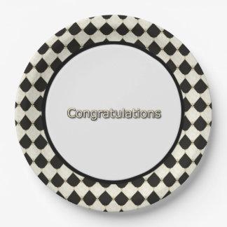 Harlequin_Diamond-Congrats-_Party-Supplies Pappteller