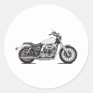 Harley Davidson Runde Aufkleber