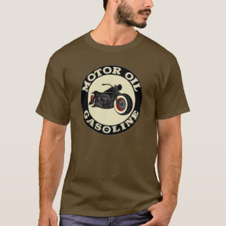 Harley Davidson - Bobber - Motor Oil - Gasoline T-Shirt