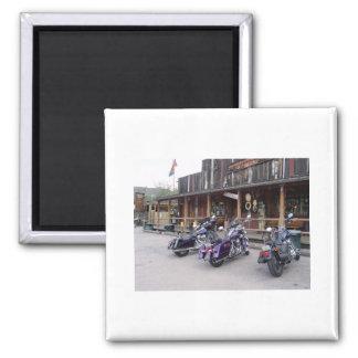 Harley Davidson Motorrad-Western-Saal Quadratischer Magnet