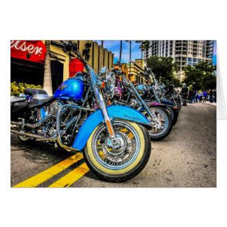 Harley Davidson-Motorräder Karten