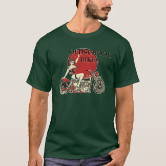Harley Davidson - Old School Bikes - Retro T-Shirt