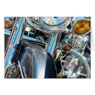 Harley Davidson, welches oben die Karte