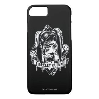 Harley Quinn Abzeichen iPhone 8/7 Hülle