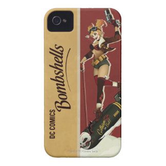 Harley Quinn BombenPinup iPhone 4 Cover