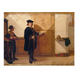 Harmensz van Rijn Rembrandt (1606-69) an klopfend Postkarte