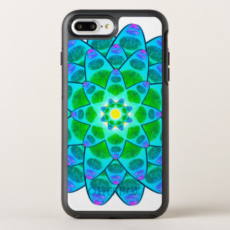 Harmonie-BlumeMandala OtterBox Symmetry iPhone 8 Plus/7 Plus Hülle