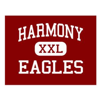 Harmonie - Eagles - Highschool - große Sandy Texas Postkarte