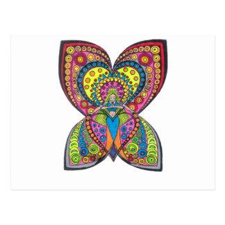 Harmonie-Engel Postkarte
