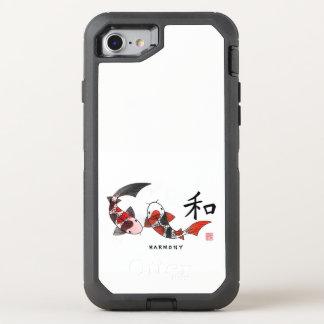 Harmonie - Koi Fisch OtterBox Defender iPhone 8/7 Hülle