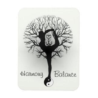 Harmonie-u. Balancen-Yoga Magnet