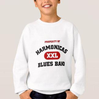 Harmonika-Blues-Band Sweatshirt