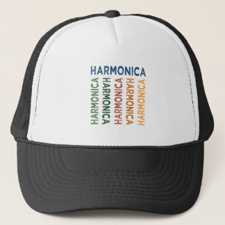 Harmonika bunt truckerkappe