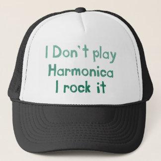 Harmonika-Felsen es Hut Truckerkappe