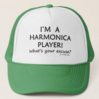 Harmonika-Spieler-Entschuldigung Truckerkappe