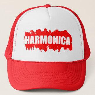 Harmonika-Spieler Truckerkappe