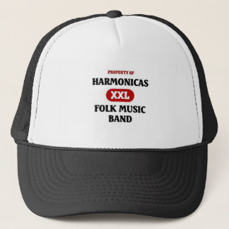 Harmonika-Volksmusik-Band Truckerkappe