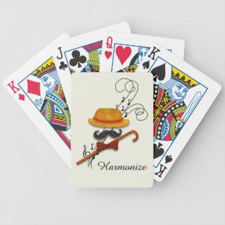 Harmonisieren Sie, Friseursalon-Quartett Bicycle Spielkarten