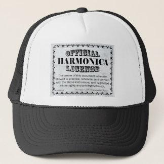 Harnonica Lizenz Truckerkappe