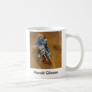 Harold Glissen Motorcross Kaffeetasse
