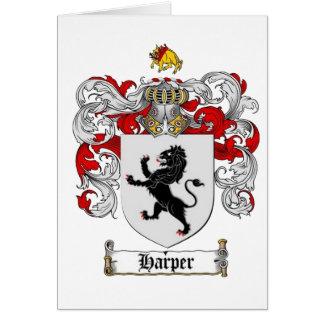HARPER-WAPPEN - Harper-Familienwappen Grußkarte
