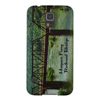 Harpers-Fähreneisenbahn Brücke Samsung Galaxy S5 Hüllen